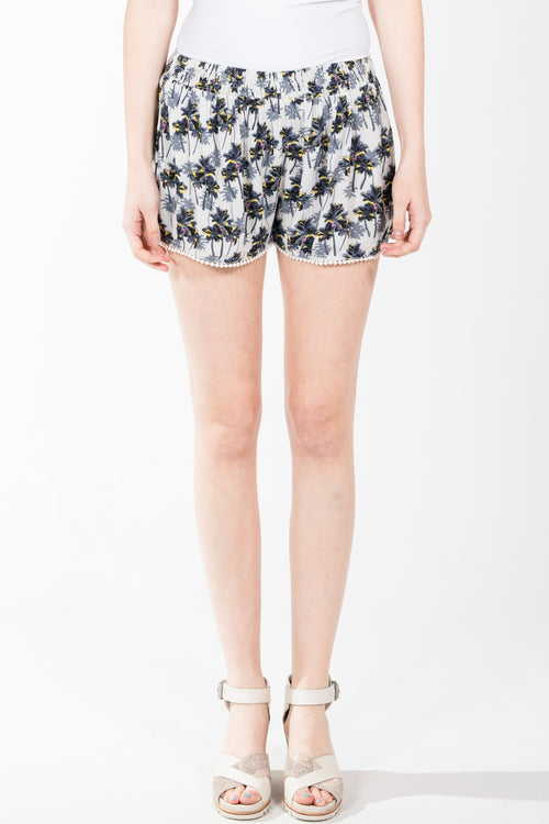 RD Style.Palm Tree Short.Off White