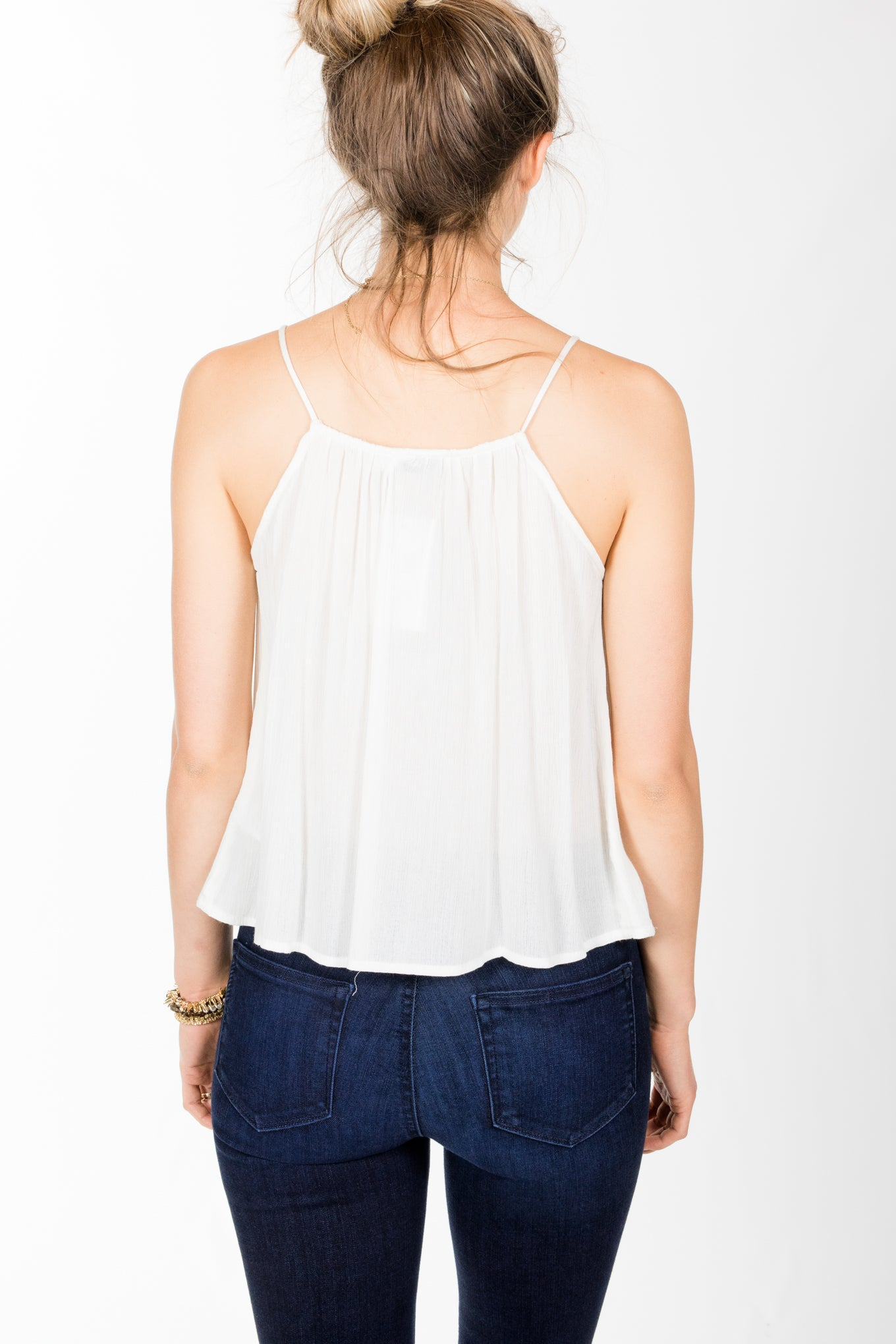 Lush.Libby Top.Vintage Cream
