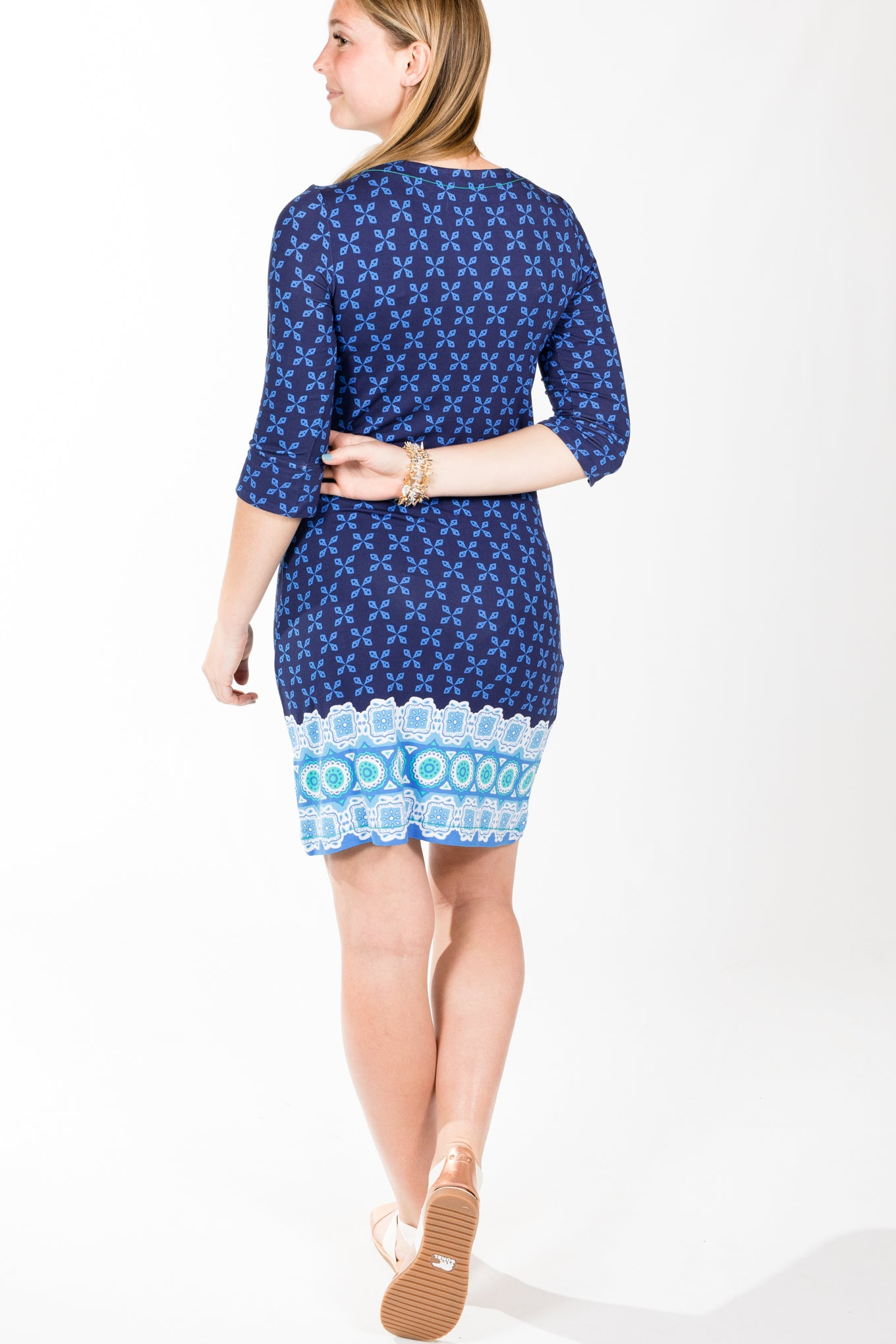 Hatley.Lucy Dress 2-Blue Valentia