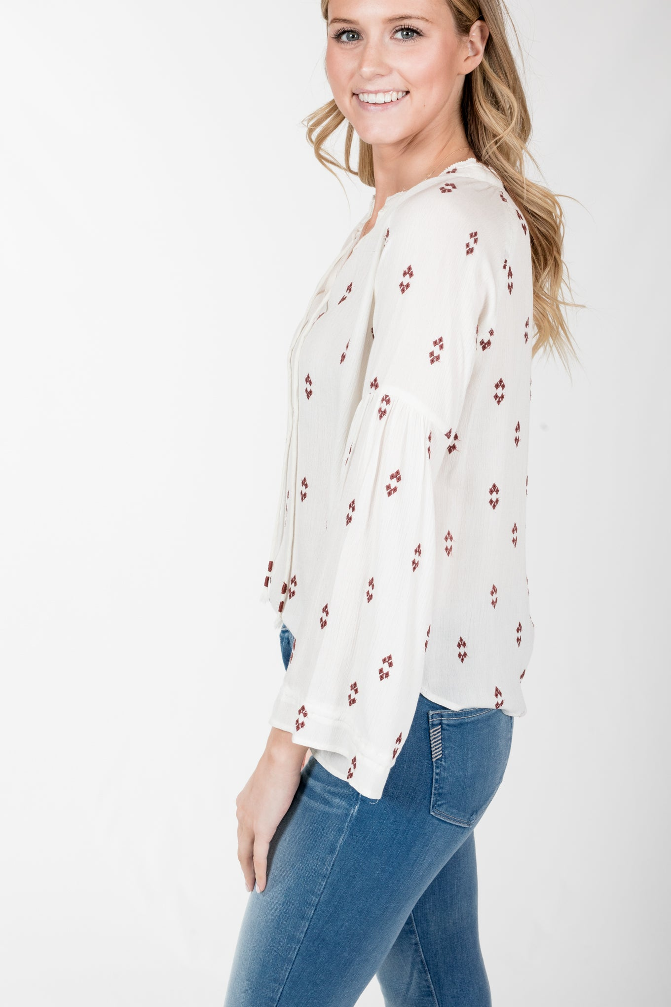 Gentle Fawn.Sonya Top-Vanilla