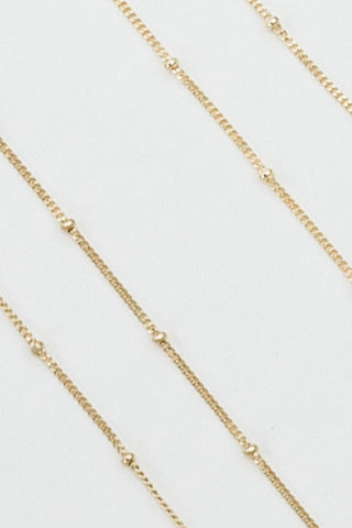 Gold Beaded Chain
