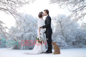 Wedding Faux fur shawl boleros wraps
