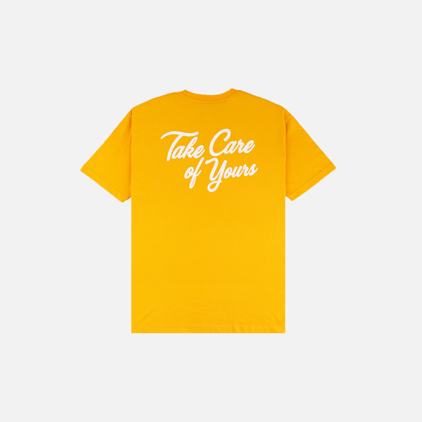 """LOVE HOME"" T-SHIRT (YELLOW)"