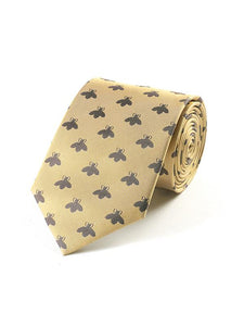 Fox & Chave Woven Bees Tie