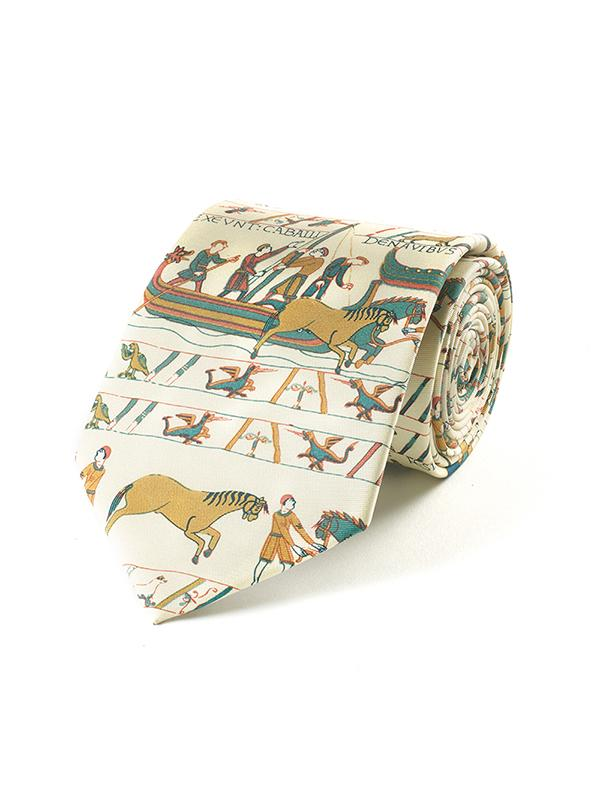 Fox and Chave Bayeux Tapestry Tie