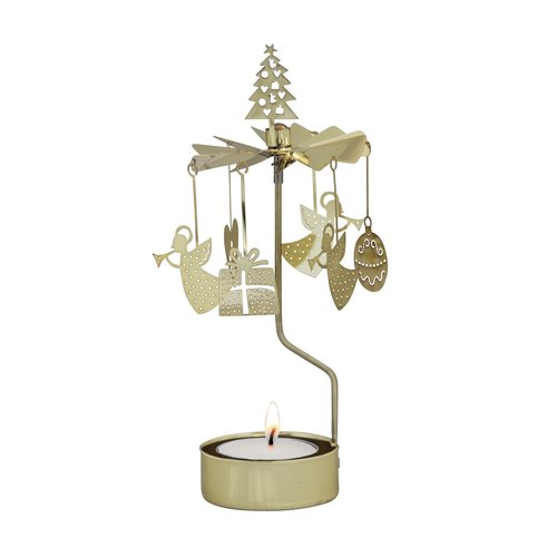 X-MAS Rotary Candle Holder