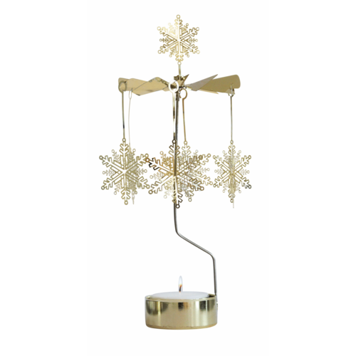 Snowstar Rotary Candle Holder