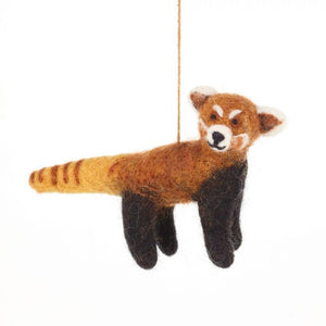 Felt So Good Red Panda Hanging Decoration