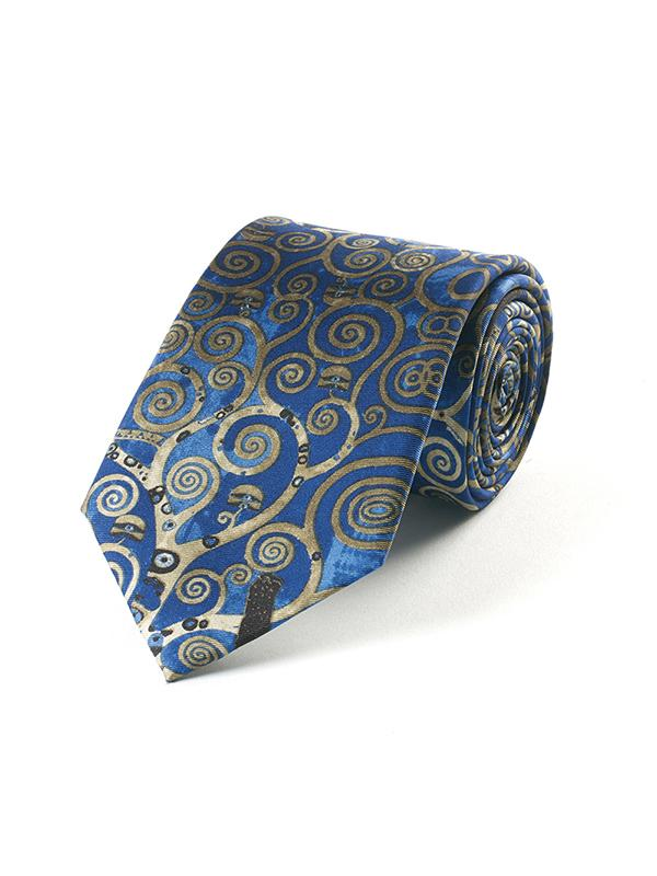 Fox And Chave Klimt Tree Tie