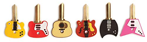 Kikkerland Guitar Key Caps