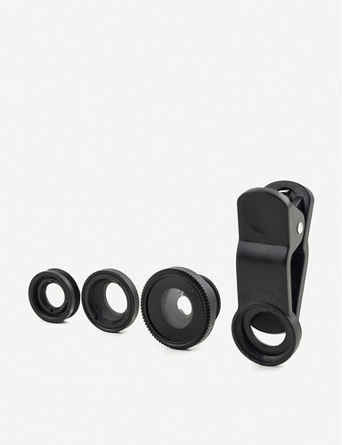 Kikkerland Clip Lens - Set of 3