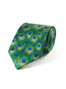 Fox And Chave Peacock Tie