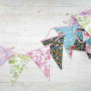 Rex English Rose Bunting
