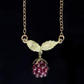 Michael Michaud Raspberry Chain Pendant