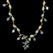 Load image into Gallery viewer, Michael Michaud Blueberry Cluster Necklace