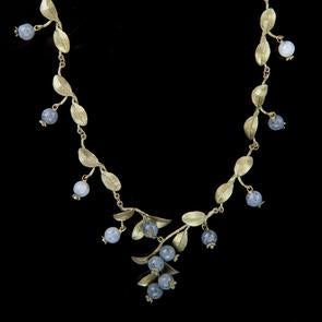 Michael Michaud Blueberry Cluster Necklace