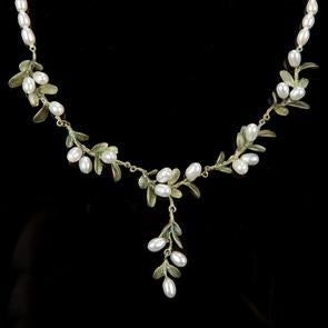 Michael Michaud Boxwood Pearl Necklace