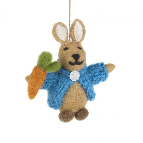 Felt So Good Peter Rabbit Hanging Decoration