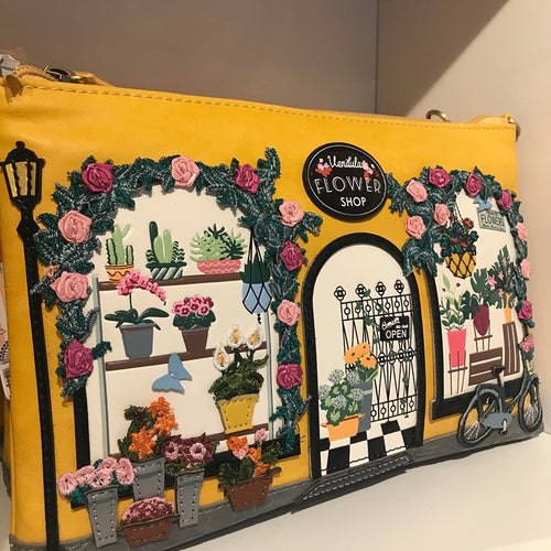 Vendula Flower Shop Pouch Bag