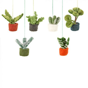 Felt So Good Mini Hanging Plants