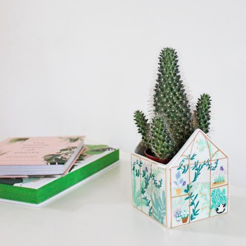 House of Disaster Boulevard Mini Greenhouse Planter