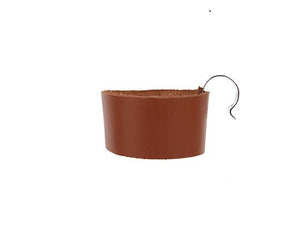 Kikkerland Leather Bike Cup Holder