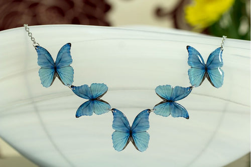 Acdria Morpho Necklace