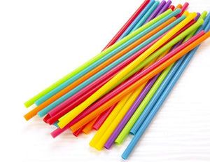 Kikkerland Bright Re-Usable Straws