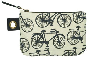 Cubic Bicycle Small Zipper Pouch