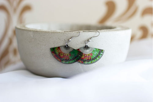 Acdria Fan Earrings