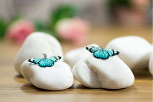 Acdria Small Tiger Butterfly Earrings