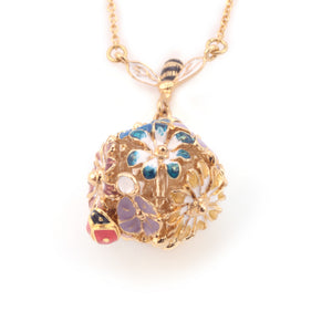 Bill Skinner Mini Floral Orb Necklace