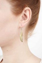Load image into Gallery viewer, Michael Michaud Mountain Laurel Leaf Wire Earring