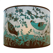 Load image into Gallery viewer, Lush Designs Blue Sisken Lampshade