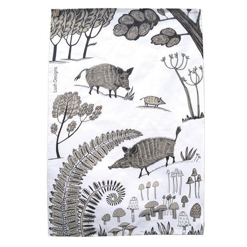 Wild Pig Tea Towel