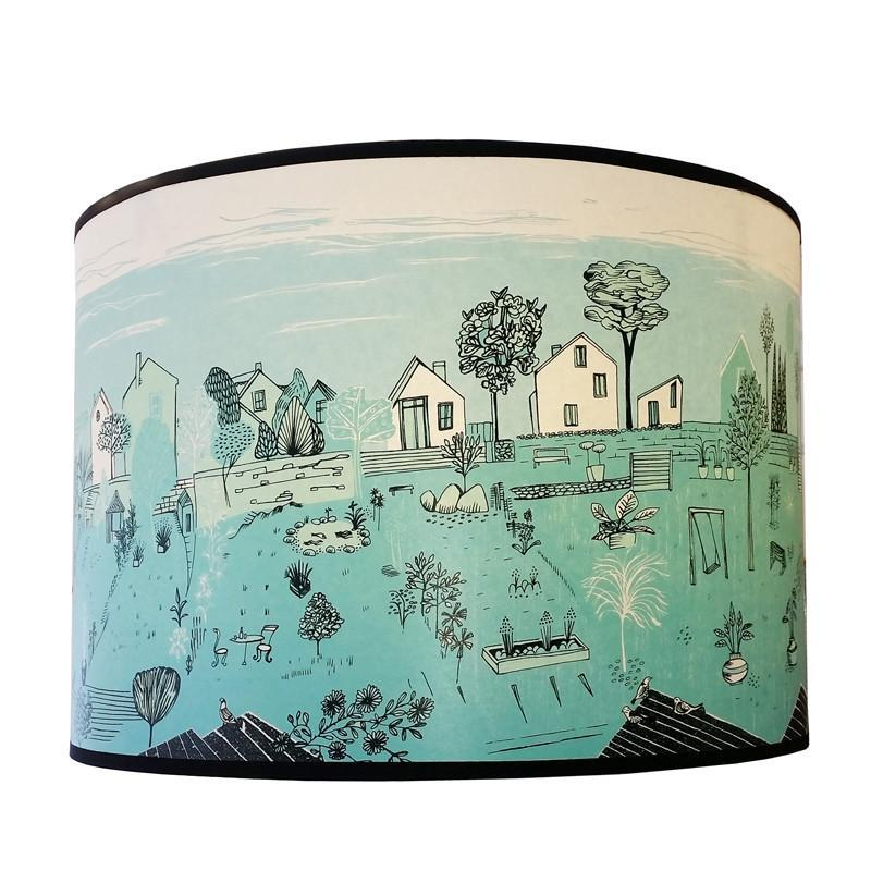 Lush Designs Back Gardens Lampshade