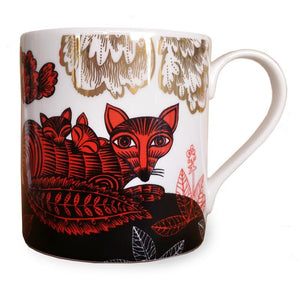 Lush Designs Fox & Cubs Mug