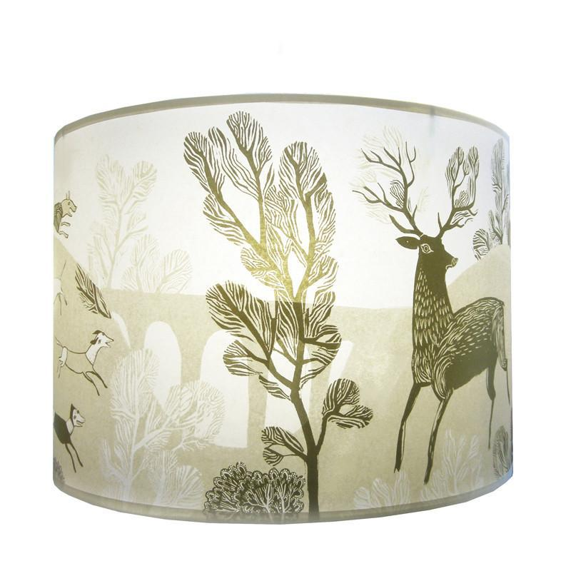 Lush Designs Gold Stag Lampshade