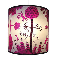Load image into Gallery viewer, Lush Designs Fuchsia Monkey Lampshade