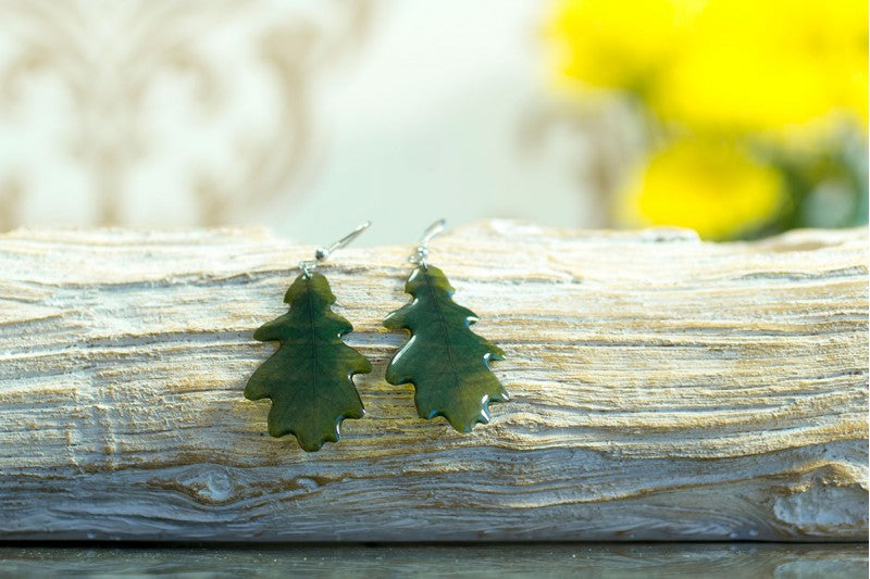 Acdria Oak Leaf Earrings