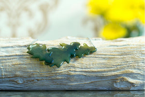Acdria Oak Leaf Layered Necklace