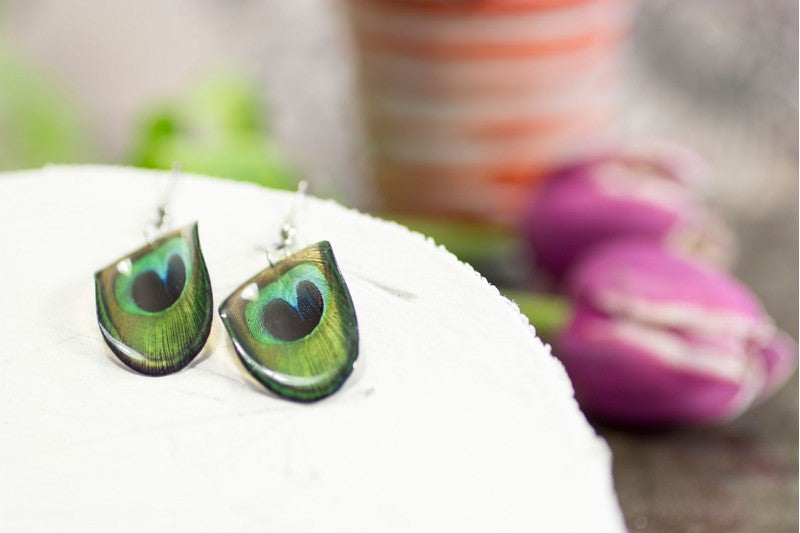 Acdria Peacock Earrings
