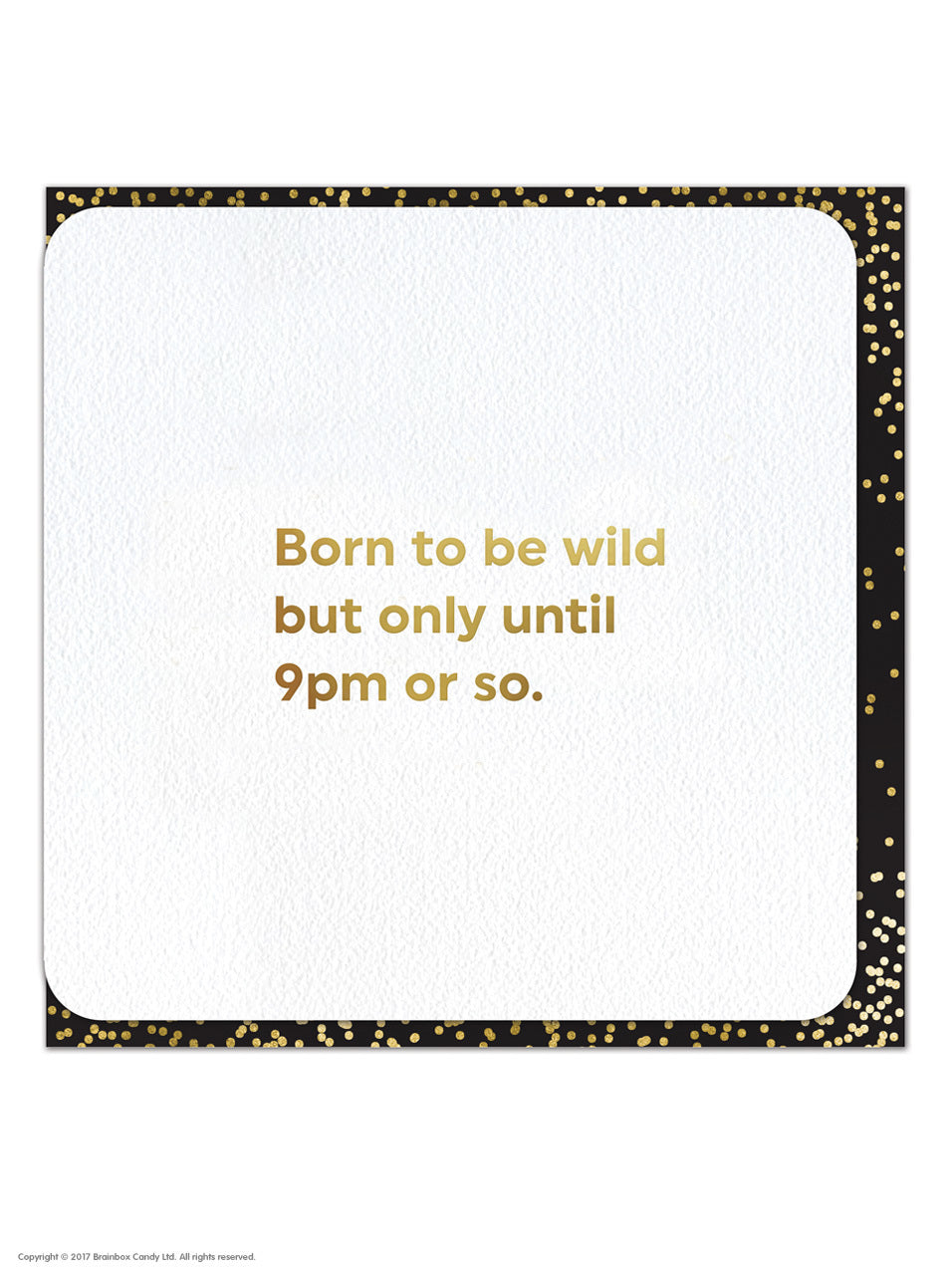 Quotish Born To Be Wild Card