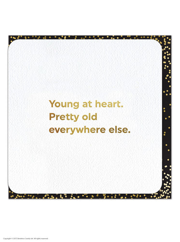 Quotish Young at Heart Card