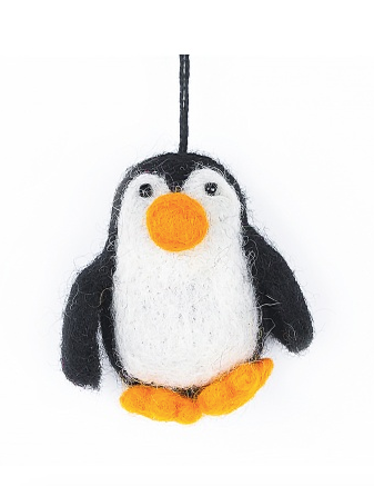 Felt So Good Baby Penguin Hanging Decoration
