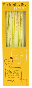 Pick-up Line Pencils