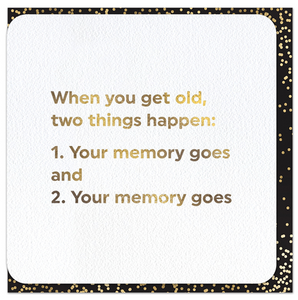 Quotish Foil 2 Things Card