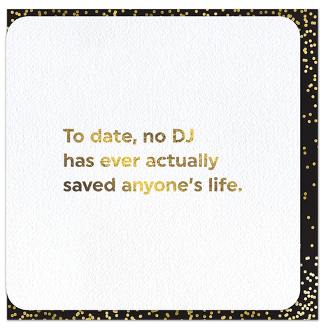 Quotish Foil No DJ Card