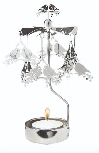 Robin Rotary Candle Holder