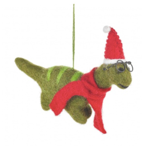 Felt So Good Christmas Dino With Specs